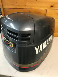 2004 Yamaha 200 Hp Ox66 2 Stroke Engine Top Cowl Cover Hood Freshwater Mn