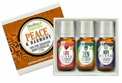 Peace & Harmony Essential Oil Set (100% Pure & Natural) Blends - 3/10ml