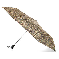 One-touch Auto Open Close Umbrella with Never Wet Coating Travel Micro Leopard
