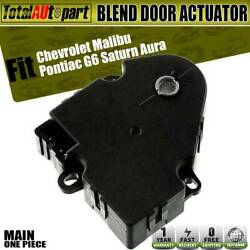 HVAC Blend Air Door Actuator For Chevrolet Malibu Pontiac Saturn Main 15844209