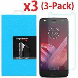 3 Pack Tempered Glass Screen Protector For Motorola Moto Z2 Play Z2 Force $5.45