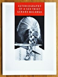 Signed - George Malanga - Autobiography Of A Sex Thief - 1984 1st Edition - Fine