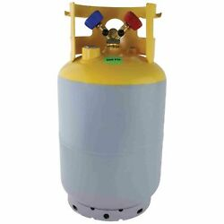 Refrigerant Recovery Cylinder - 400 psi (30 lbs) Without Float Switch
