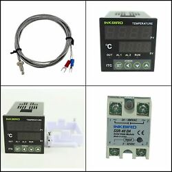 Inkbird AC 100 220V ITC-100VH Outlet Digital PID Thermostat Temperature DA 40A