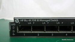 Hp 649891-001 4x Infiniband Switch Module For Blade System C-class 648311-b21