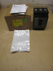 New Square D PowerPact HJ 060 HJL36050 50-Amp 3-Pole 50A 3P 600V Circuit Breaker