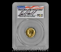 2016-w Gold Mercury Dime Pcgs Sp70 Fs Special Hand-signed Insert By David Hall