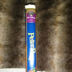 Peter Pan Vhs, 1998, 45th Anniversary Limited Edition