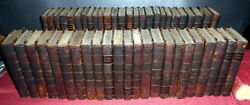 The British Novelists Anna Barbauld. 49 Volumes 1810 1stEd. Rare Set