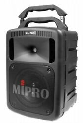 Professional Mipro small wireless amplifier PA system MA-708PAD (1 receiver equ