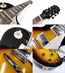 Epiphone Les Paul Epiphone Les Paul Standard Plus-top PRO VS Electric Guitar Mar