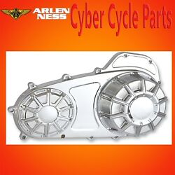 Arlen Ness 10 Gauge Chrome Outer Primary Cover 2007-up HD Touring FLT 16-412