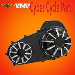 Arlen Ness 10 Gauge Black Outer Primary Cover 2007-up Street Glide 16-413