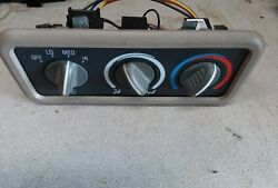 98-96 Chevy Suburban Rear Climate Control Panel Unit gmt400 Tahoe yukon