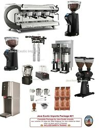 Simonelli Digit 3 Group Commercial Espresso Coffee Package Install + Training