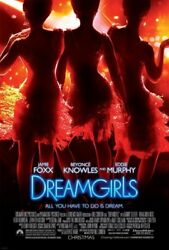 DREAMGIRLS MOVIE POSTER 2 Sided ORIGINAL 27x40 BEYONCE KNOWLES