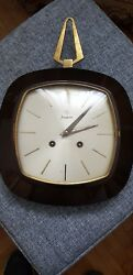 Original German Junghans Wind Up Wall Clock - Extremely Rare Piece