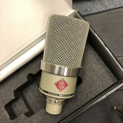 Neumann TLM 102 Condenser Microphone with Shockmount Box and Clip Excellent!