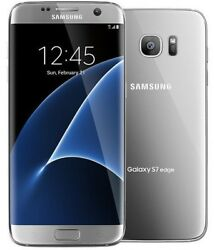 Samsung Galaxy S7 Edge Sm-g935t T-mobile 32gb Ram 4gb 5.5 Android Phone Silver