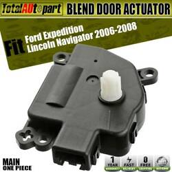 Heater Blend Air Door Tempareture Actuator for Ford  Lincoln 2006-2008 604-276