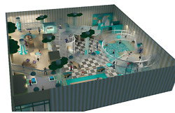 15000 sqft Commercial Indoor Playground Themed Interactive Soft Play We Finance