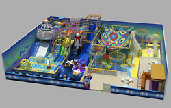 13500 sqft Commercial Indoor Playground Themed Interactive Soft Play We Finance