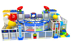 1000 sqft Commercial Indoor Playground Themed Interactive Soft Play We Finance