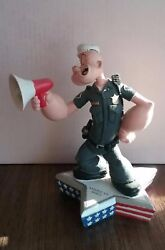 Extremely Rare Popeye As Police Officer Figurine Limited Edition Of 3600 Statue
