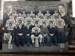 Rare Gm 1931-32 Toronto Maple Leafs Stanley Cup Champs Puzzle -complete No Glue