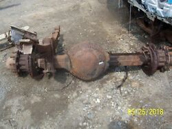 Rear Axle Assembly 2001 Gmc T6500 Spicer Disc Brake Removable Carrier 10 Lug Hub