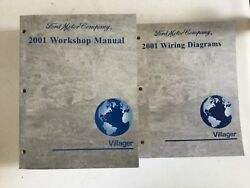 2001 Villager Workshop Service Repair Manual With Wiring Diagrams Manual