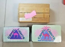 Vintage Camel Cigarettes Tin And Matches  54g