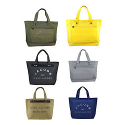NEW Authentic Marc by Marc Jacobs Canvas Shopper Tote Bag $69.99
