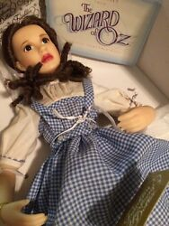 Porcelain Dorothy Doll By Franklin Heirloom Dolls From Wizard Of Oz