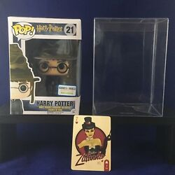 Harry Potter Sorting Hat Barnes And Noble Exclusive W Protective Case Funko Pop