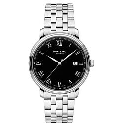 Watch Tradition Date Automatic 116483 Gents Steel Swiss Black Dial New