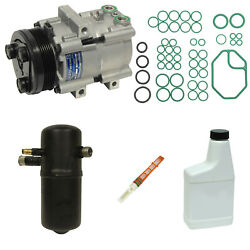 New AC Compressor and Component Kit KT 1409 -  Town Car Grand Marquis Crown Vic
