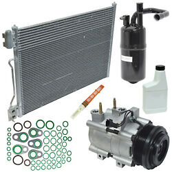 New AC Compressor and Component Kit KT 2086A -  Crown Victoria Town Car