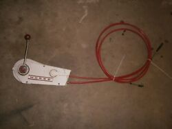 BOAT OUTBOARD ENGINE THROTTLE CONTROL SHIFTER MORSE CABLES