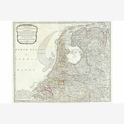 Holland Or The Netherlands First Quality Replica 1794 Laurie And Whittle Map