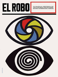4541.el Robo.two Eyes.different Lenses.movie.poster.decoration.home Wall Art
