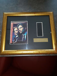 Extremely Rare The X Files Fox Mulder Limited Edition Of 200 Filmcell Framed