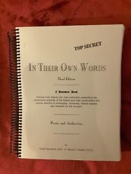 In Their Own Words A Resource Book By Gerald Allanandnbsp Brown And Charles V. Darnell