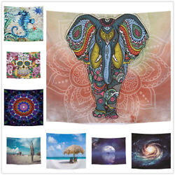 Mandala Tapestry Indian Wall Hanging Decor Bohemian Hippie Bedspread Throw Mats