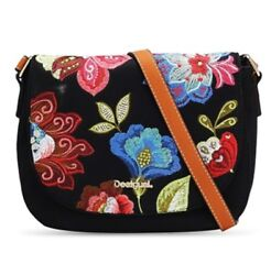 Desigual 2017 Embroidery Women's Should bagCross Body brand new with tag