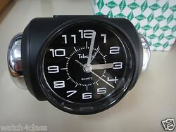 [telesonic]crazy Super Loud Bell Alarm Snooze Clock Blk+free Shipmade In Taiwan