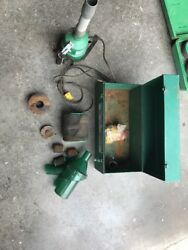 Greenlee 590,691, And 591 Portable Fish Tape Blower System