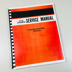 Allis Chalmers Fuel Injection Data Roosa Master Pump D Series Service Manual