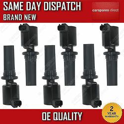 6X FULL SET JAGUAR S-TYPE 1999-07  LINCOLN LS 1998-ON PENCIL IGNITION COIL NEW
