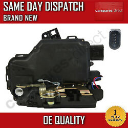 VW NEW BEETLE JETTA FRONT RIGHT CENTRAL DOOR LOCK 19982007 NEW 8 PIN
